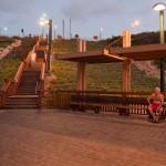 נתניה - מדרגות ודק חוף תמוז (5)